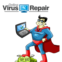 OnlineVirusRepair.com Mascot