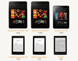 Kindle Fire HD Deals 2013
