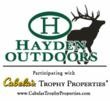 Hayden Outdoors Now Providing Habitat and Wildlife Management Services