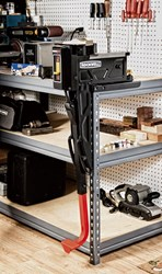 Rockwell BenchJaws mount to metal fram workbench