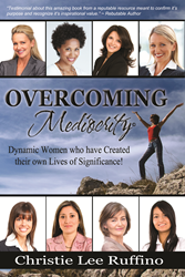 book cover, overcoming mediocrity