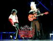 Guitarist Jennifer Batten &amp; Calro Riley as Michael Jackson