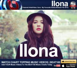 Featured BEAT100 Artist Ilona - My Favorite Defeat (Release Feb 2013)