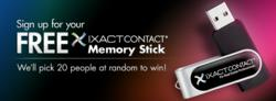 IXACT Contact Real Estate Contact Management Memory Stick Giveaway on Facebook