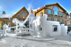 McCall Winter Carnival Snow Sculpture