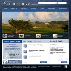 City of Pacific Grove, CA: Home