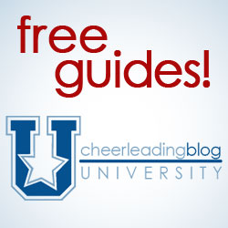 The Cheerleading Blog University launches with over 20 free cheer guides
