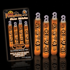 Supreme Glow Pumpkin Glow Sticks