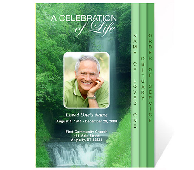 funeral program templates funeral program templates funeral program templates celebration of life templates