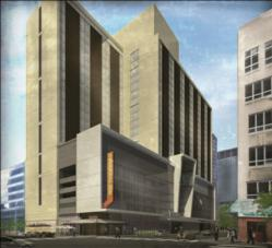 Westin Cleveland Downtown rendering