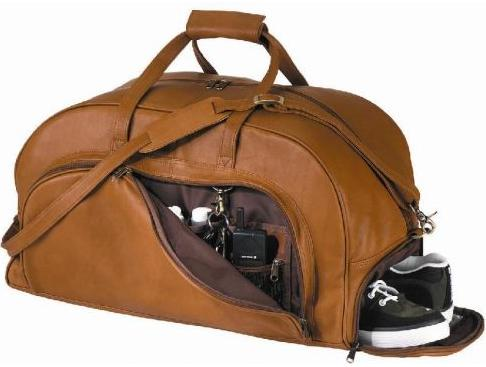 Royce Leather Bag Duffel Or Gym With Shoe PocketRoyce 690 3 Now Only 355