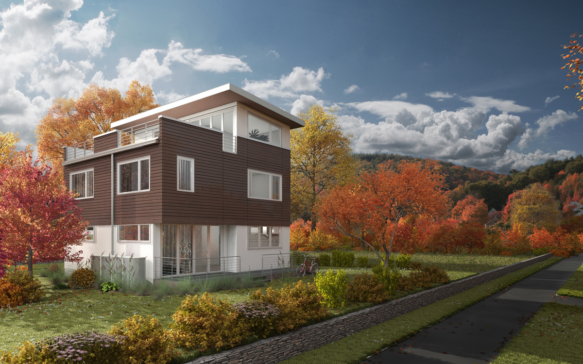 Seattle green prefab home provider to take center stage at for Modern modular homes seattle