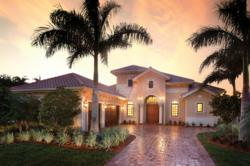 Greenbriar II furnished model in the Majorca village at Fiddler's Creek, Naples, Florida