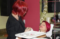 permanent makeup lips procedure