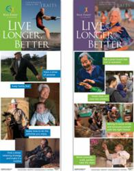 Blue Zones Centenarian Poster Set from Learning Zone Express