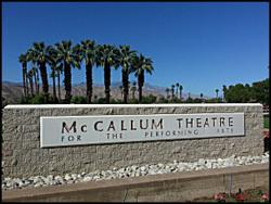 Palm Desert McCallum Theatre