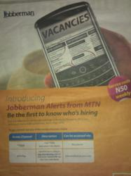 Jobberman Alerts from MTN