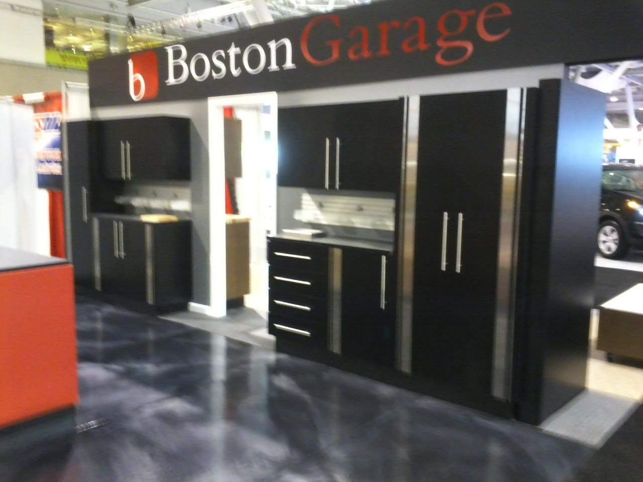 Boston garage launches new product line at the new england for Garage ww auto