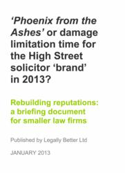 Front cover of Legally Better briefing document