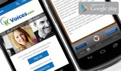 Download the Voices.com Android App in Google Play