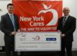 Brian Scullin, New York Pass and Gary Bagley, Executive Director, New York Cares
