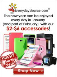 New Year at EverydaySource.com Arrives with Discounts on Discounts!