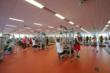 One of three fitness training zones.