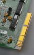 Polyonics antistatic tape protects gold fingers on PCBs