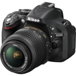 Nikon D5200 Digital SLR Camera with 18-55mm Lens