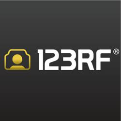 123RF Logo