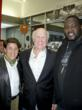Peter Lamas, Football icon Terry Bradshaw, and actor Quinton Aaron
