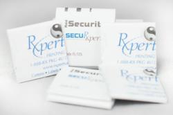 Flottman Company's SecuRxperts Miniature Folded Brochure WINS GOLD!
