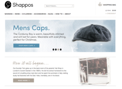 Shappos.com Hats & Accessories Website
