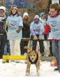 "Household canines compete in the popular ""Mosnter Dog Pull"""