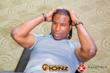 Georges Laraque working out with Fusion Ionz bands
