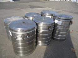 SUPER CHEF STAINLESS 10 GALLON INSULATED TANKS