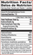 U.S. FDA's Nutrition Facts Chart Celebrates its 20th Anniversary-...