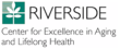 Riverside Health System's Center for Excellence in Aging and Lifelong Health Logo