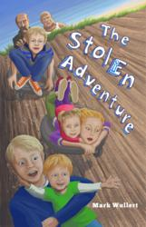 The Stolen Adventure Book Cover - Art by Lynette Charters Serembe