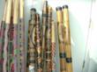 wooden didjeridoo, bamboo didjeridoo, tribal musical instruments