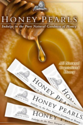 White Lion Tea's Honey Pearls® sweeten every cup of tea.