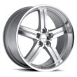 Lumarai Lexus Wheels - The Morro in Silver