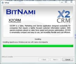 BitNami X2CRM Stack Installer