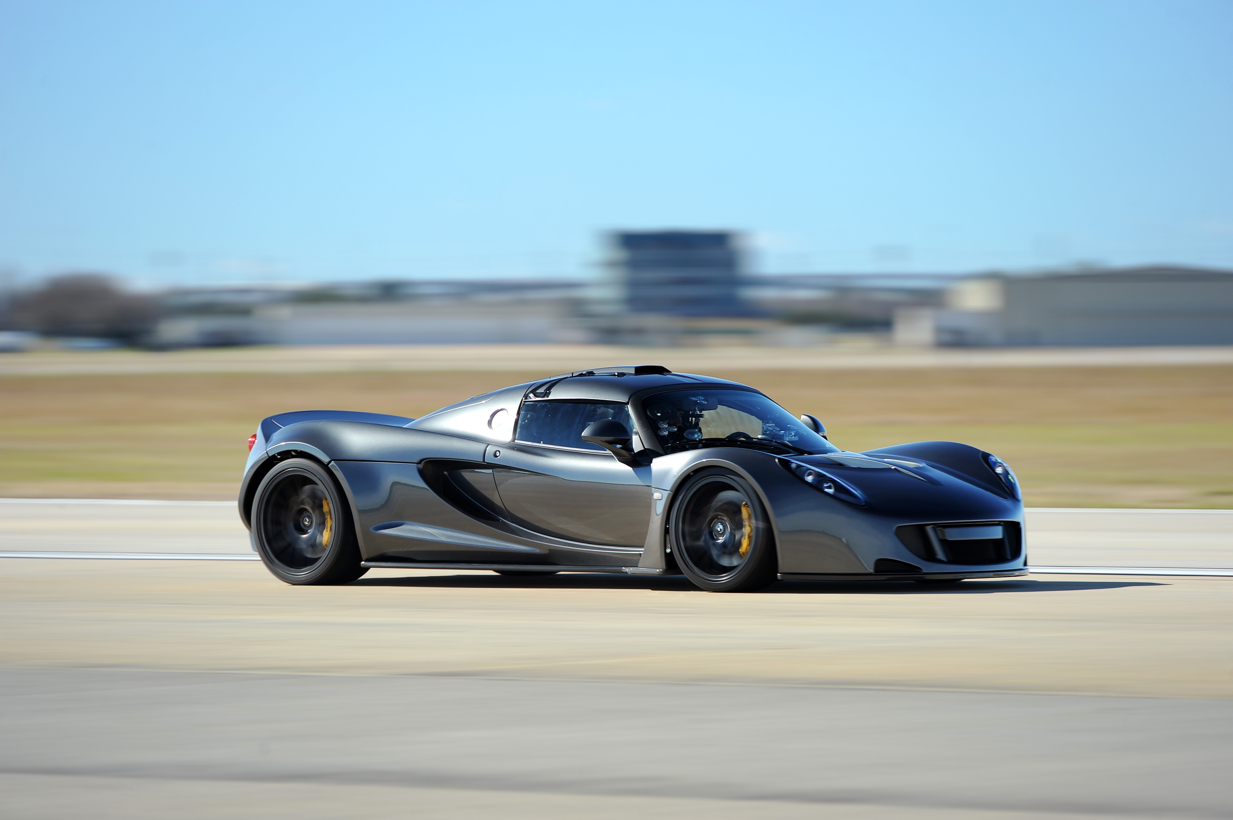 ... Fastest street-legal production car in the world Hennessey Venom GT