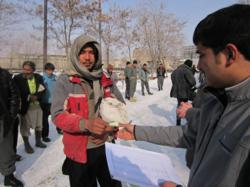 Security Consulting Company distributes food in Afghanistan