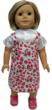 Rose and Red Doll Jumper & Blouse