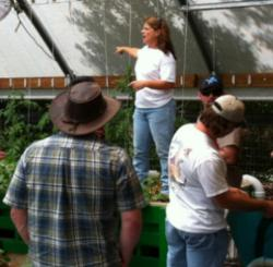 Gina Cavaliero of Green Acre Aquaponics