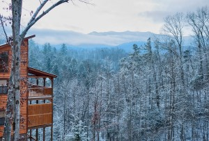 A website aimed at lodging in for Tennessee winter cabins