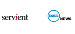 Servient and Dell logo with News caption