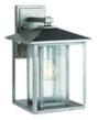 Sea Gull Lighting's wall latern from its new Hunnington outdoor Collection